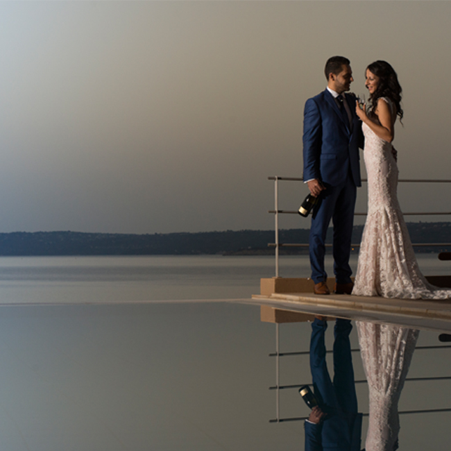 SK Place Crete Villas wedding